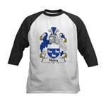 Haley Family Crest Kids Baseball Jersey