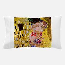 The Kiss detail, Gustav Klimt, Vintage Pillow Case