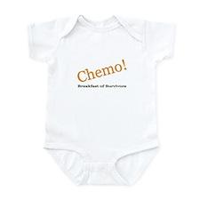 'Chemo! Breakfast of Survivors' Infant Bodysuit