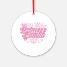 """""""Princess Camila"""" Ornament (Round)"""