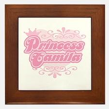 """Princess Camila"" Framed Tile"