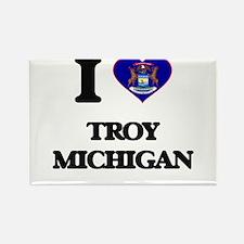 I love Troy Michigan Magnets