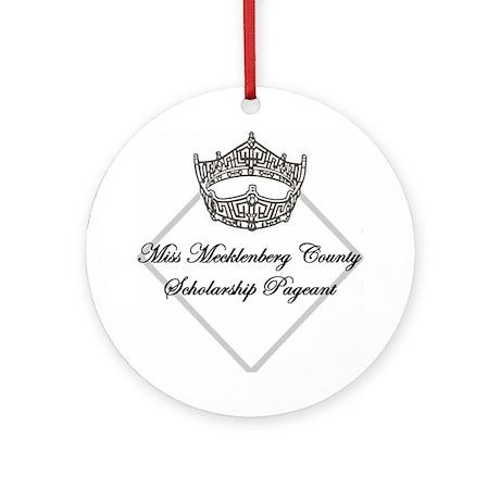Miss Mecklenburg Ornament (Round)