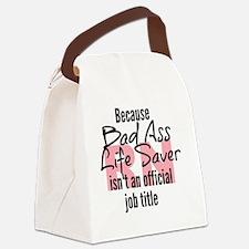 Cute Rn Canvas Lunch Bag