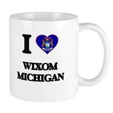 I love Wixom Michigan Mugs