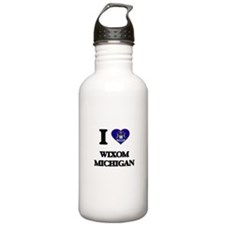 I love Wixom Michigan Water Bottle