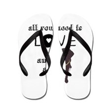 All You Need Is Love and a Dog Flip Flops