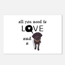 All You Need Is Love and a Dog Postcards (Package