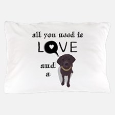 All You Need Is Love and a Dog Pillow Case