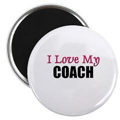 I Love My COACH Magnet