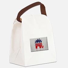 Republitarian Canvas Lunch Bag