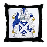 Haig Family Crest Throw Pillow