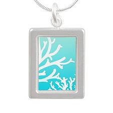 Aqua Coral Necklaces