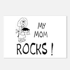 My Mom Rocks ! Postcards (Package of 8)