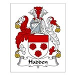Hadden Family Crest Small Poster