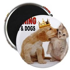 CATS AND DOGS Magnets