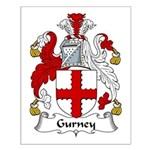 Gurney Family Crest Small Poster