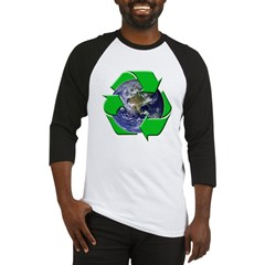 Earth Day Recycle Baseball Jersey