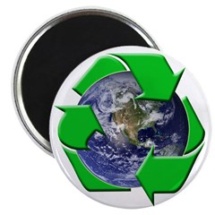Earth Day Recycle Magnet