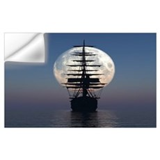 Ship Sailing In The Night Wall Decal
