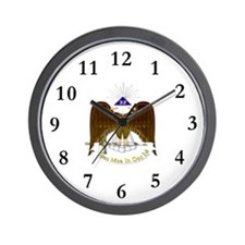 Scottish Rite Wall Clock