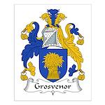 Grosvenor Family Crest Small Poster