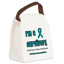 I'm a Survivor... Canvas Lunch Bag