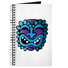 Purple and Blue Tiki Journal