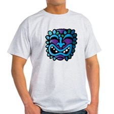 Purple and Blue Tiki T-Shirt