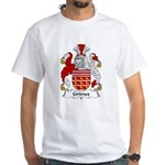 Grimes Family Crest White T-Shirt