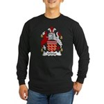 Grimes Family Crest Long Sleeve Dark T-Shirt