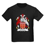 Grimes Family Crest Kids Dark T-Shirt