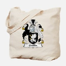 Griffin Family Crest Tote Bag