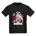 Gregson Family Crest Kids Dark T-Shirt
