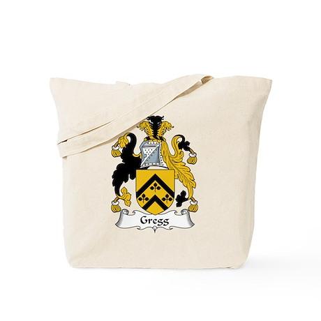 Gregg Family Crest Tote Bag