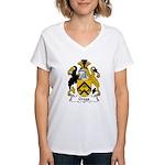 Gregg Family Crest Women's V-Neck T-Shirt