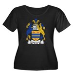 Greenwell Family Crest Women's Plus Size Scoop Nec