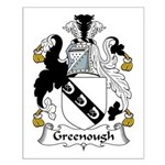 Greenough Family Crest Small Poster