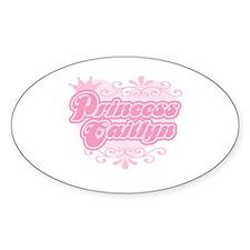 """""""Princess Caitlyn"""" Oval Decal"""
