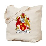 Greenfield Family Crest Tote Bag