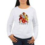 Greenfield Family Crest Women's Long Sleeve T-Shir