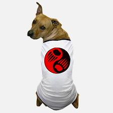 Bear Claw Yin Yang Dog T-Shirt