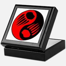 Bear Claw Yin Yang Keepsake Box
