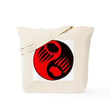 Bear Claw Yin Yang Tote Bag