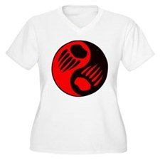 Bear Claw Yin Yang T-Shirt