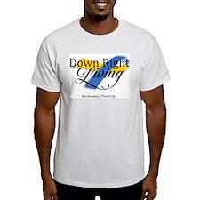 Down Right Living Logo T-Shirt