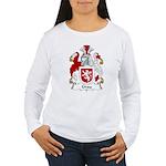 Gray Family Crest Women's Long Sleeve T-Shirt