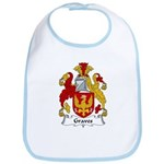 Graves Family Crest Bib