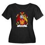Graves Family Crest Women's Plus Size Scoop Neck D