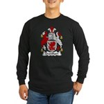 Grantham Family Crest Long Sleeve Dark T-Shirt